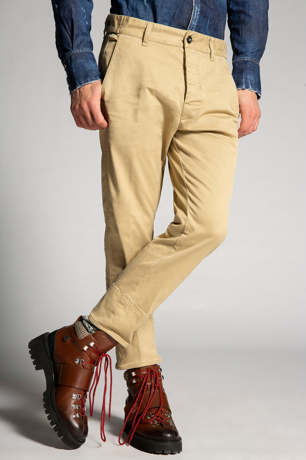 Pantaloni Hockney in twill di cotone - Dsquared2