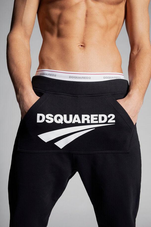 Pantaloni della tuta con logo Flash di Dsquared2 - Dsquared2