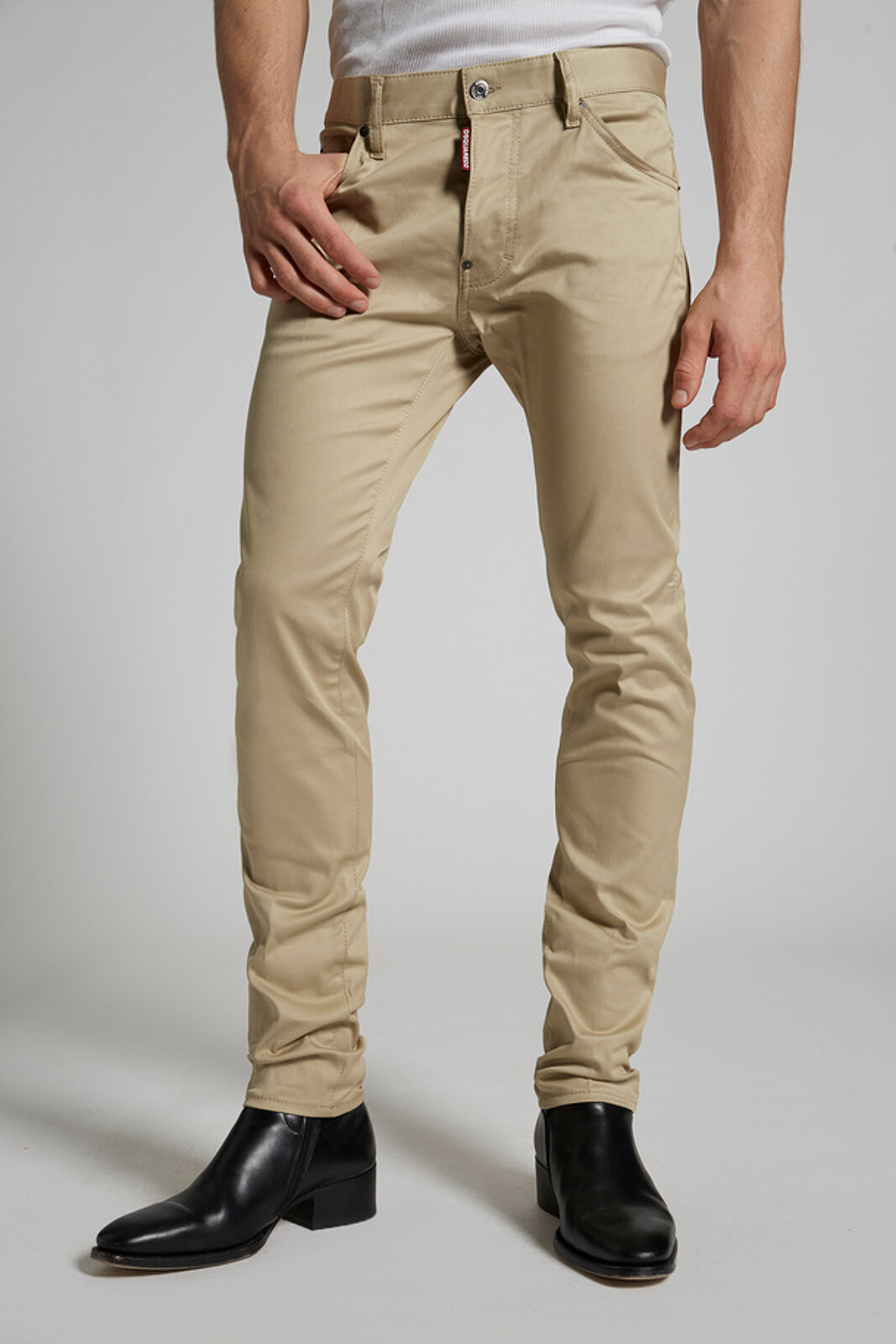 Cotton Twill Cool Guy Jeans - Dsquared2