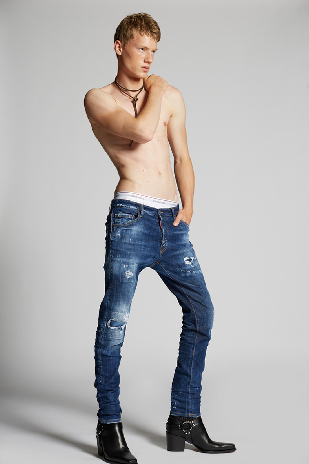 Holy Dark Wash Cool Guy Jeans - Dsquared2