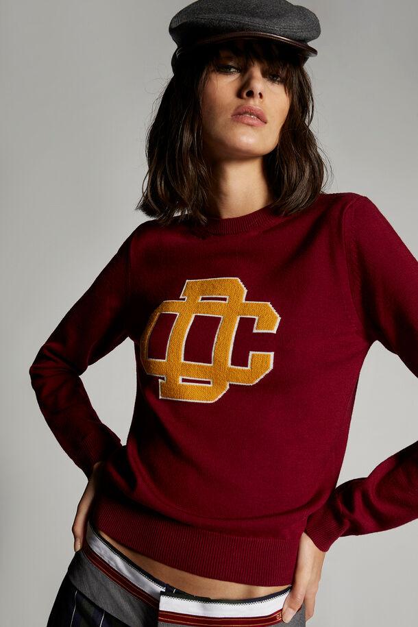 DC Crest Knit Sweater - Dsquared2