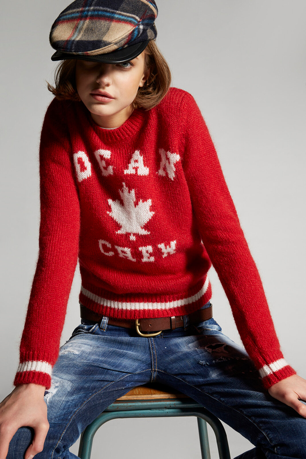 Dean Crew Mohair Knit Sweater - Dsquared2