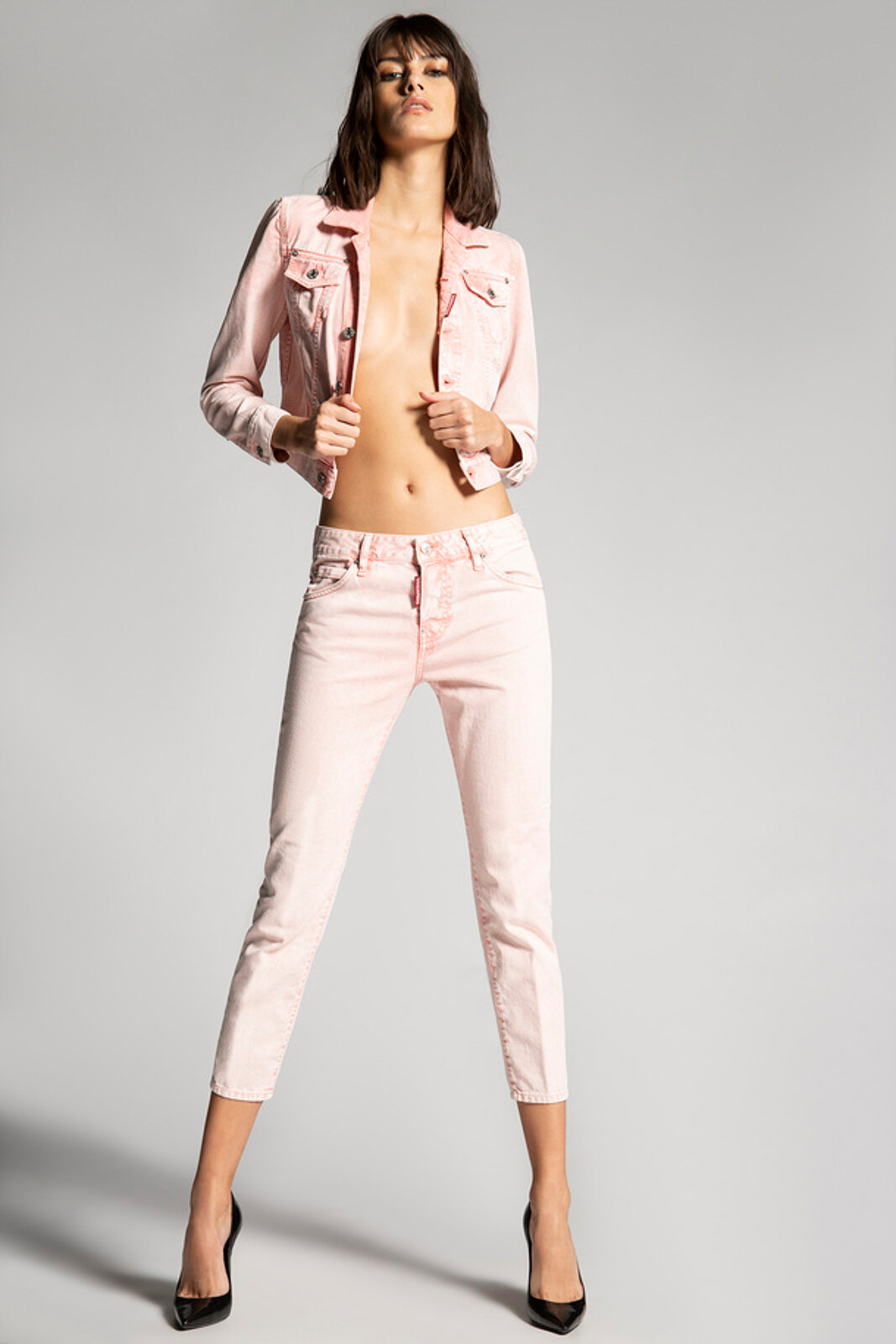 Jeans Cool Girl tinti in capo - Dsquared2