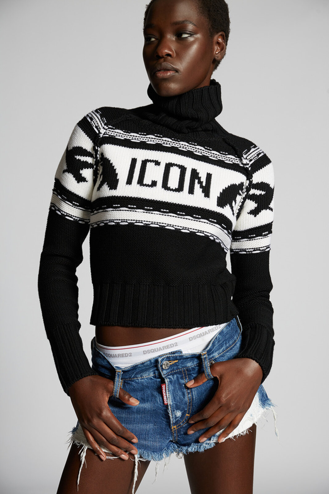 Icon Knit Sweater - Dsquared2