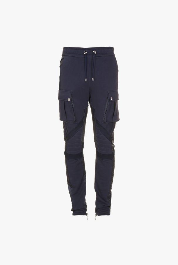 Pantaloni Sportivi Modello Cargo In Cotone - Balmain