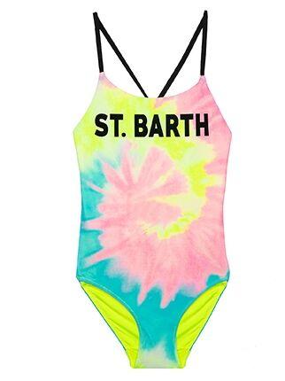 Costume Intero Bimba Tie Dye - MC2 Saint Barth Junior
