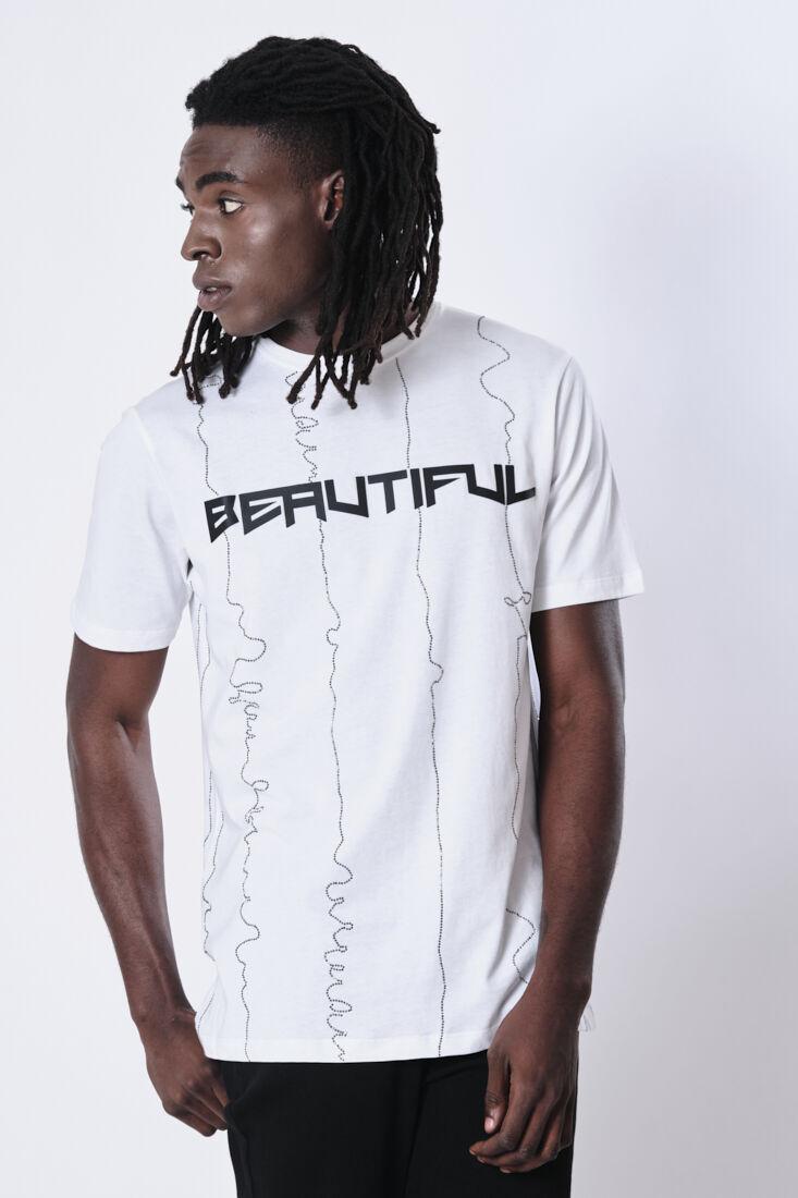 Light Lines Tshirt - Beautiful Bastard