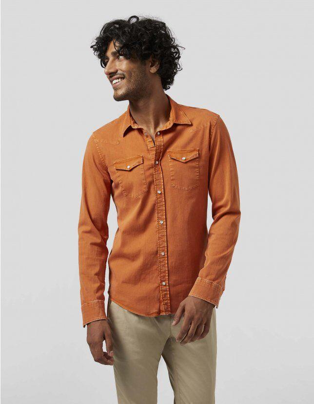 Camicia In Cotone - Dondup