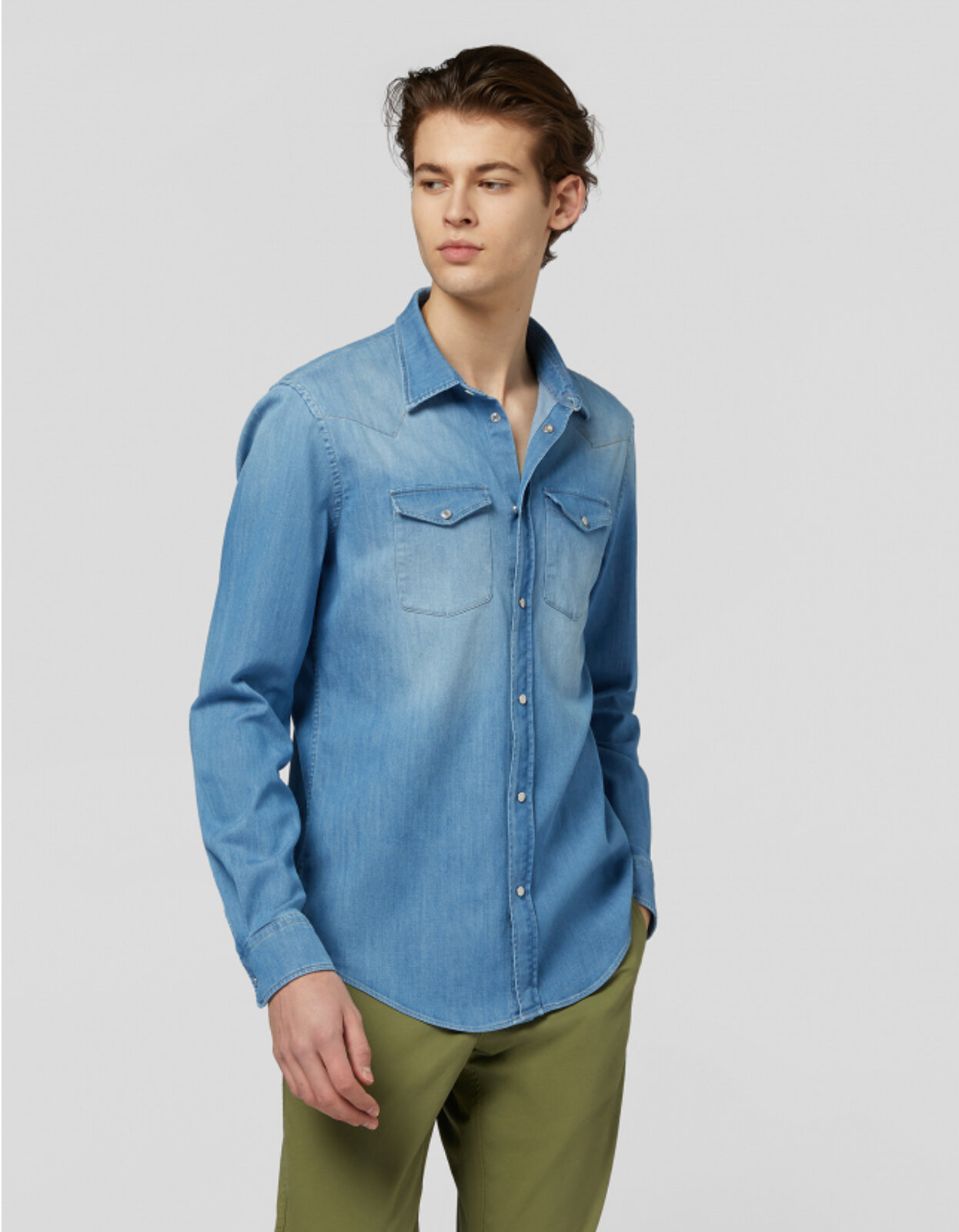 Camicia In Denim - Dondup
