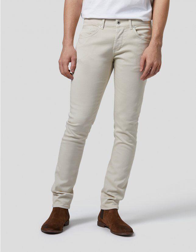 George Skinny Jeans In Bull Denim - Dondup