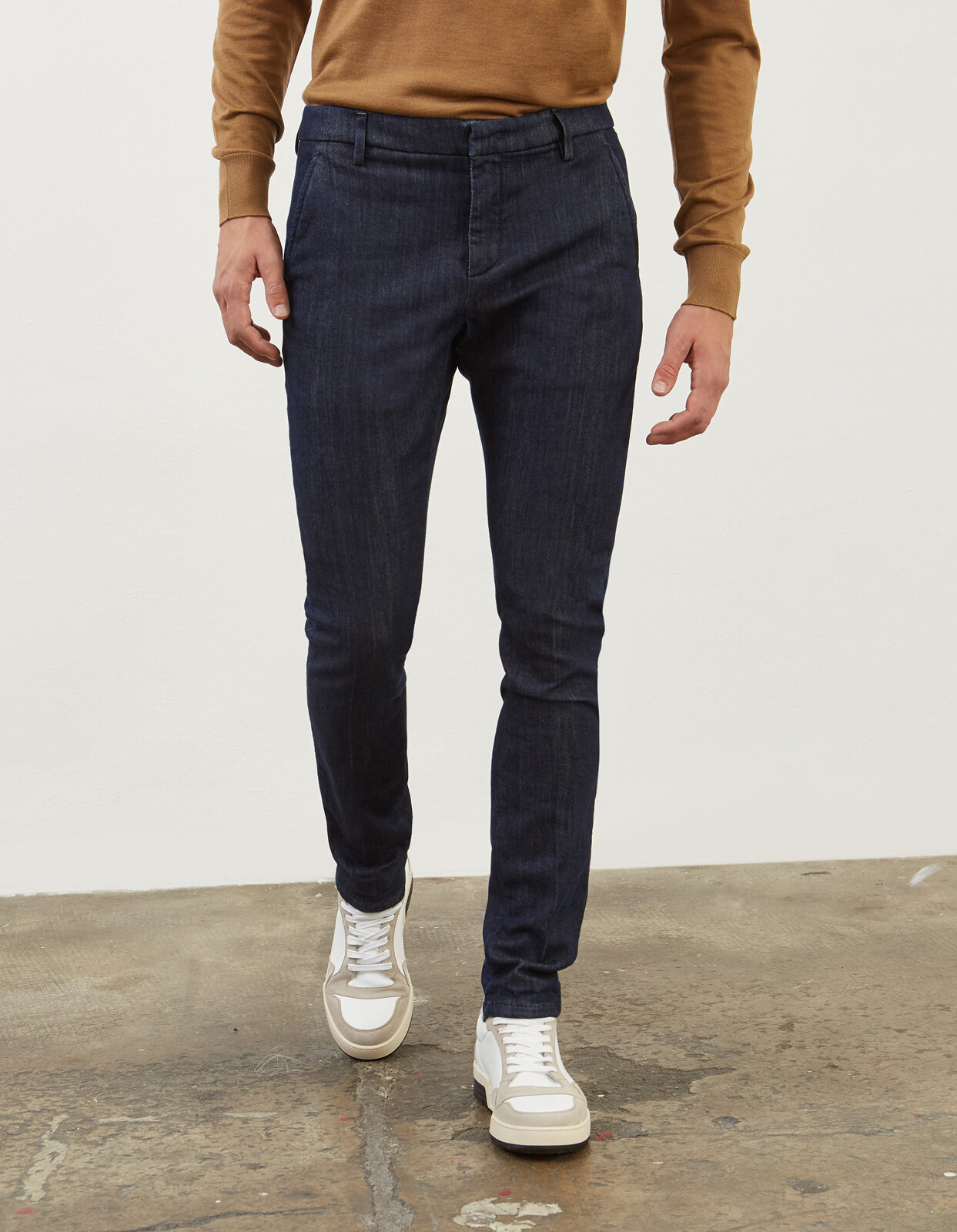 Pantalone Slim Gaubert In Denim - Dondup