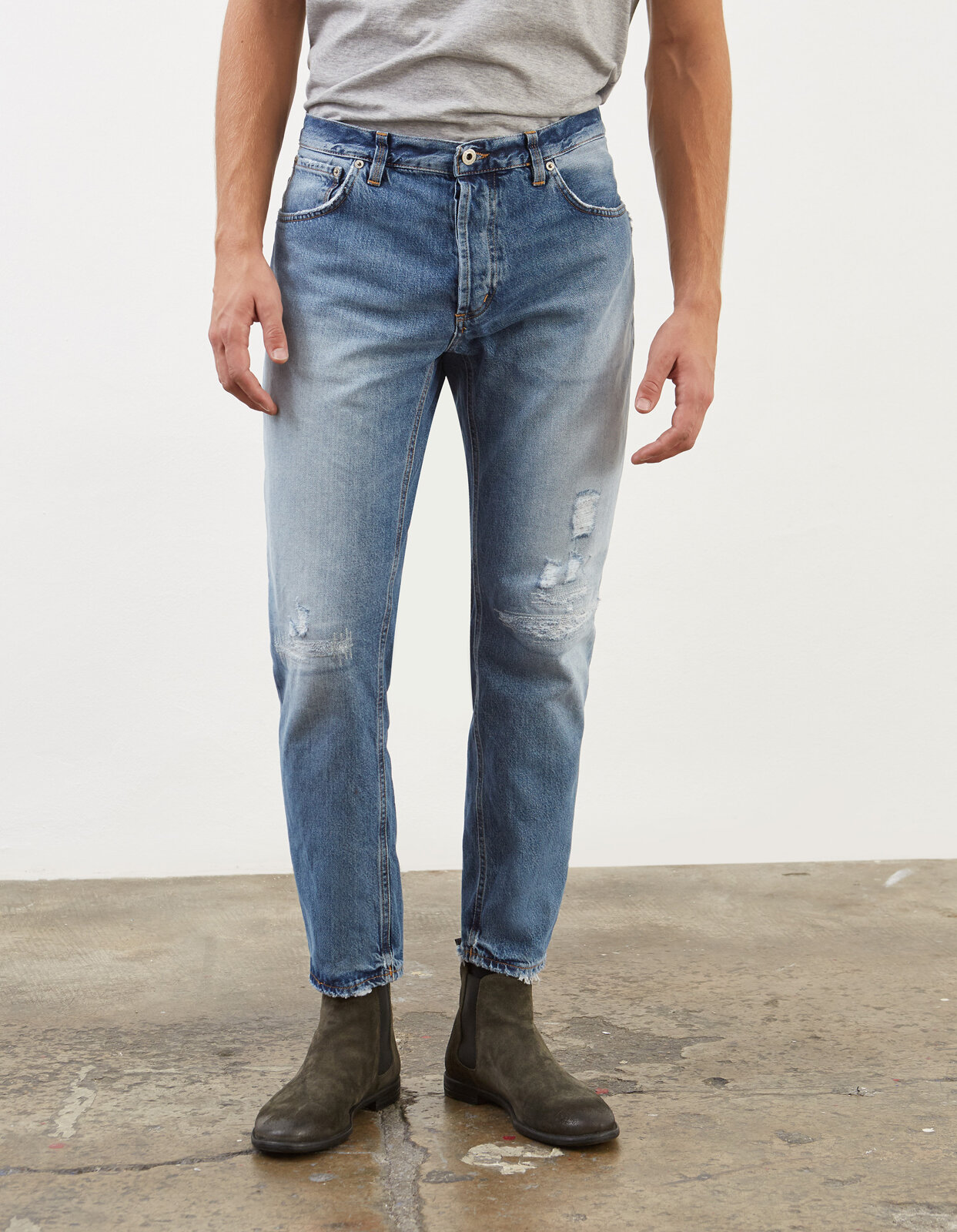 Jeans Carrot Brighton - Dondup