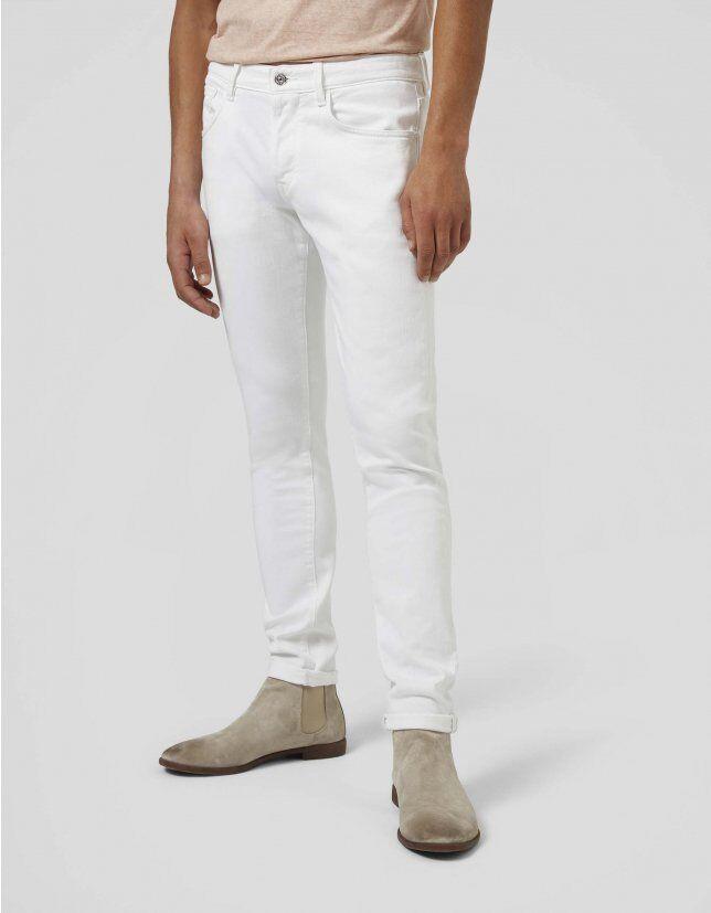 Jeans Slim Sartoriale In Bull Denim - Dondup