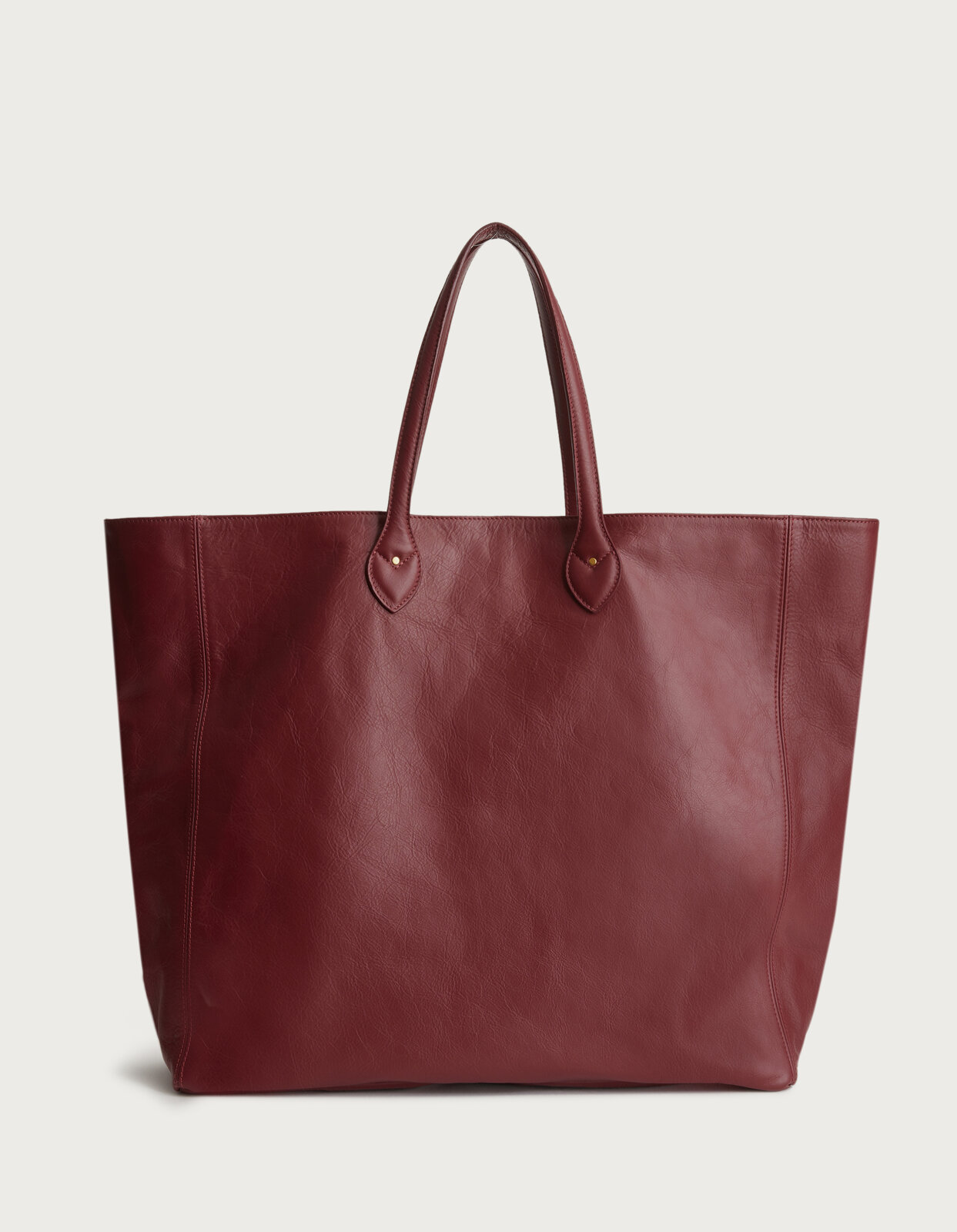 Shopping bag in nappa leather - Dondup