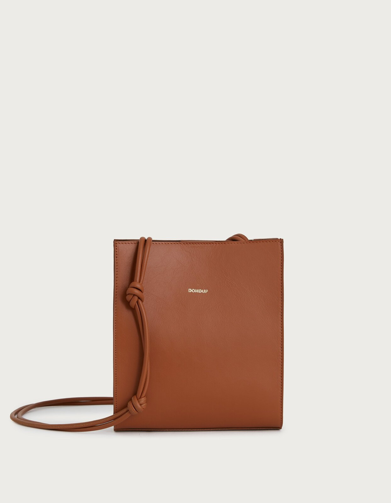 Bag with shoulder strap in nappa leather - Dondup