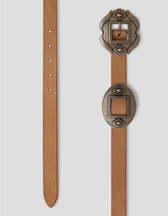 Leather Belt - Dondup