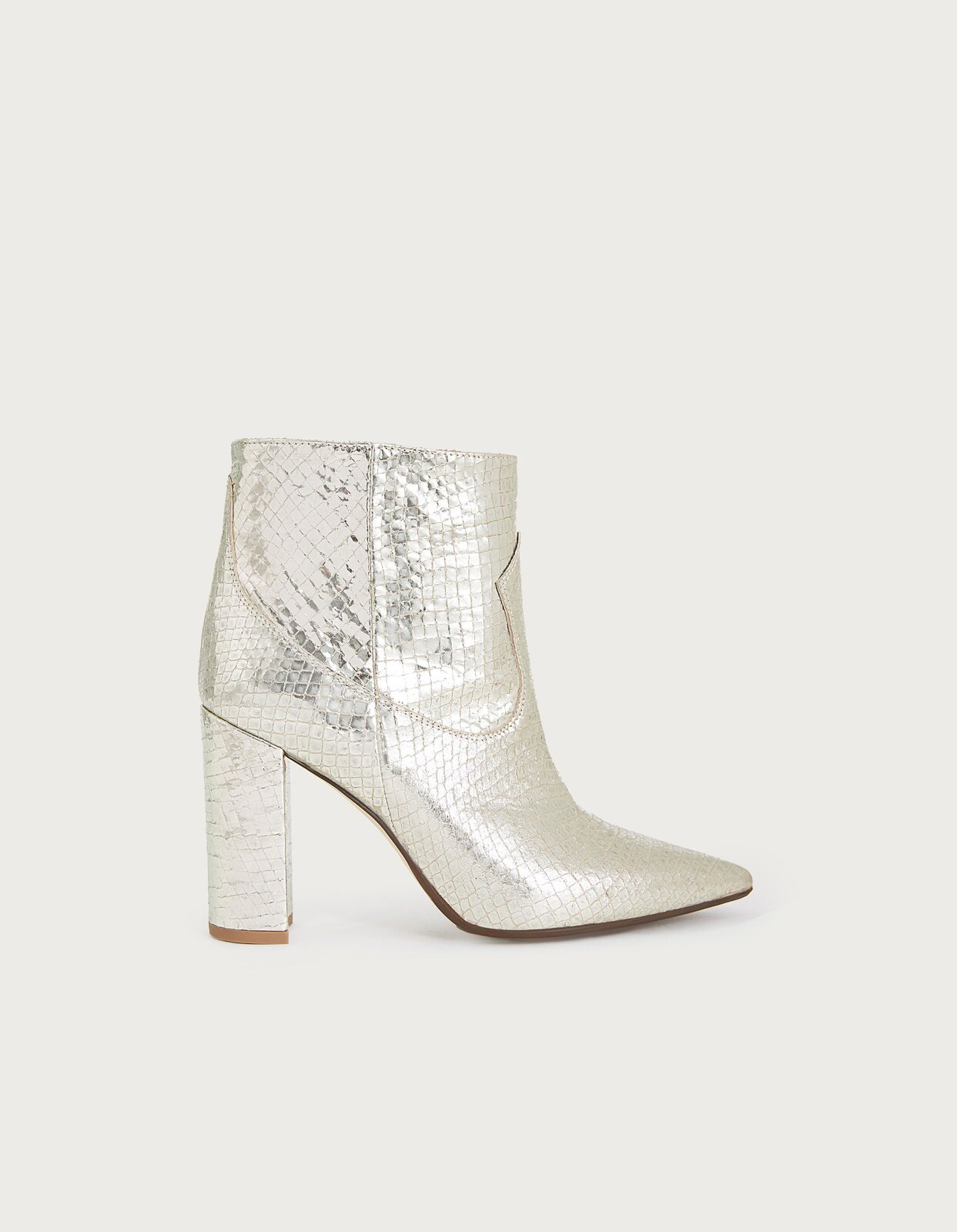 Ankle boot in laminated leather - Dondup