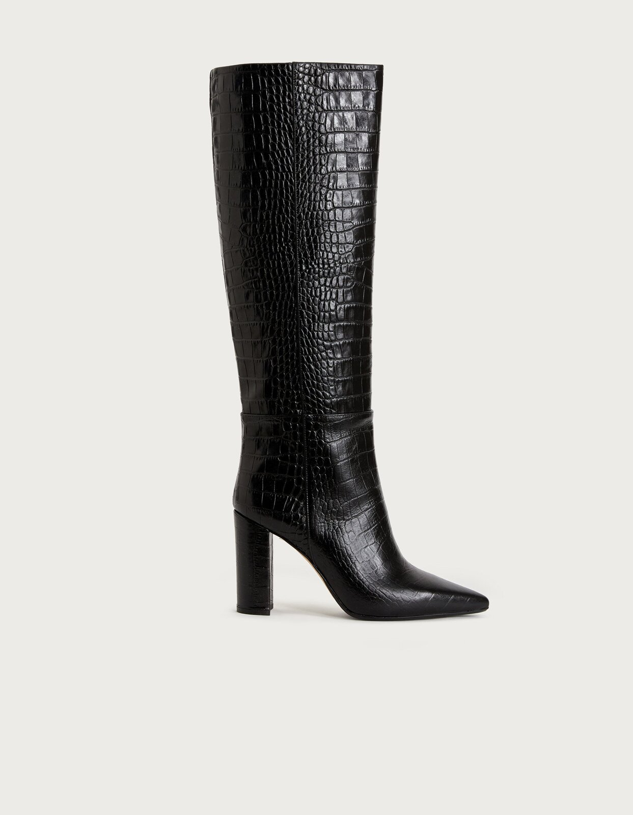 Printed leather boot - Dondup