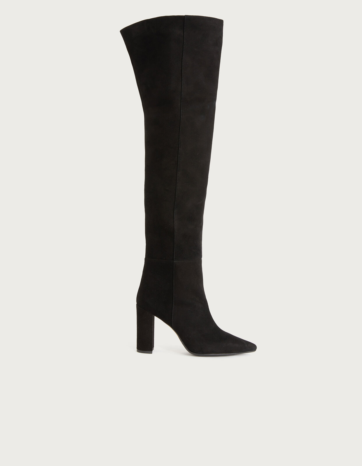 High suede boot - Dondup